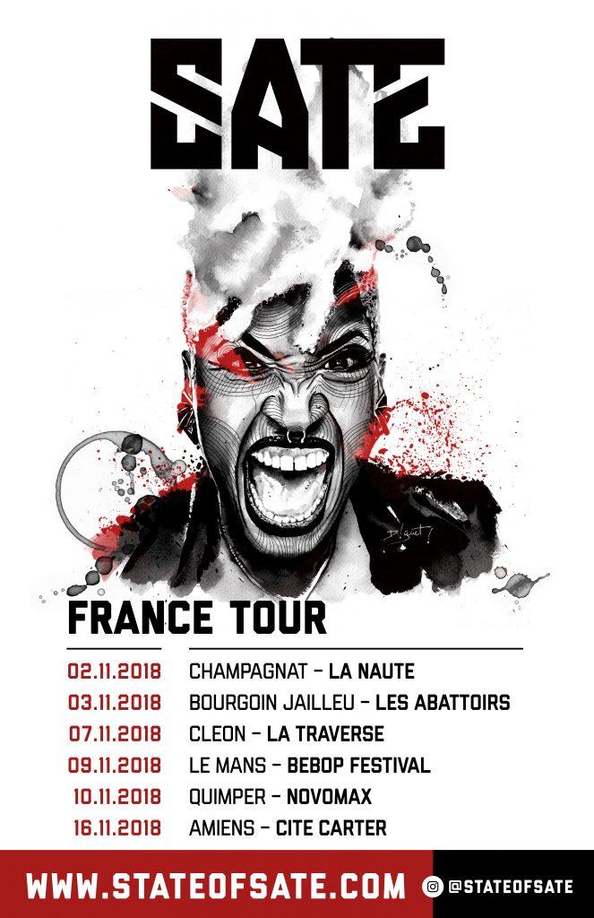 SATE x FRANCE [Colour]